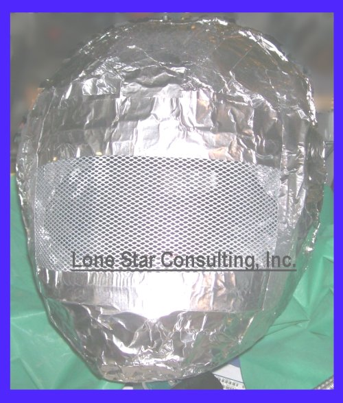 Lone Star Consulting, Inc. Aluminum foil beanie or cap,shielding,electronic implants,subliminal mind control,electronic attack,directed energy weapons research,EMF attack,EMF mind control,infrasonic attack,brainwashing,brainwave entrainment,brainwave signatures,brainwave entrainment,behavior modification,brain stimulations,brain state monitoring,mind reading,manchurian candidates,electronic gangstalking
